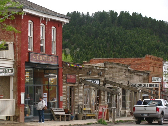 Virginia City has retained much of its historic architecture from the late 19th century